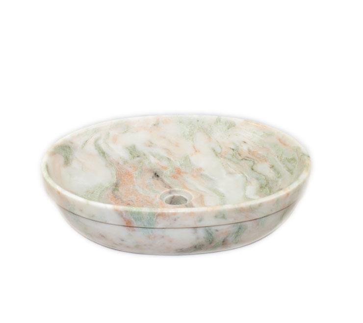 ciotola in marmo per bagno