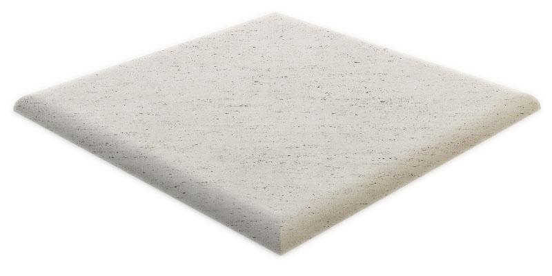 Bordo marmo a becco di civetta